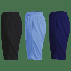 Men's Mesh Moisture-Wicking Shorts 3-Pack for $29