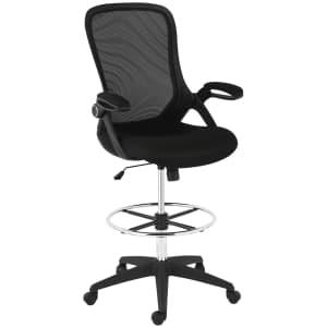 EdgeMod Sadia Mesh Drafting Chair for $156