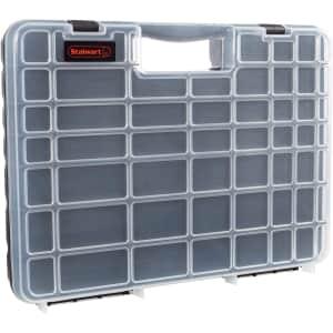 Stalwart 55-Bin Portable Storage Case for $16