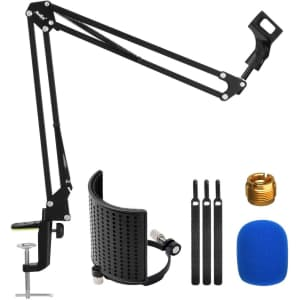 Moukey Microphone Boom Arm Kit for $3