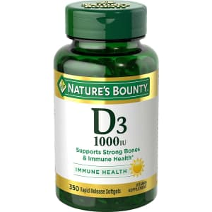 Nature's Bounty Vitamin D3 350-Count Bottle for $5.28 via Sub & Save