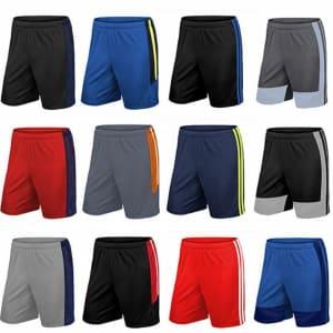Men's Moisture Wicking Mesh Shorts 4-Pack for $23