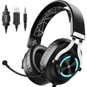 Eksa E3000 USB Gaming Headset for $19
