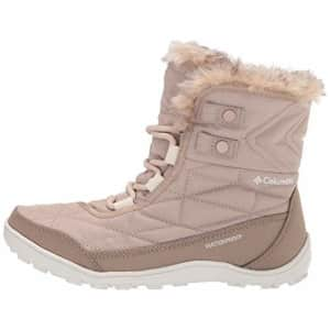 Columbia Women's Minx Shorty III Snow Boot, Oxford Tan/Fawn, 7 for $111