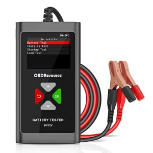 Faslink 6V/12V Car Battery Tester for $57