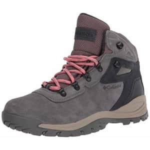 Columbia Women's Newton Ridge Plus Waterproof Amped Leather & Suede Hiking Boot, Stratus/Canyon for $79