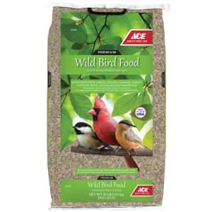Ace Hardware Premium Assorted Species Milo and Corn Wild Bird Food 20-lb. Bag for $10