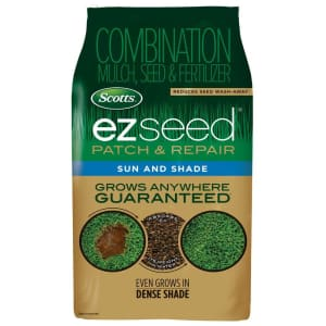 Scotts EZ Seed Mixed Sun/Shade Seed, Mulch & Fertilizer 10-lb. Bag for $22 for members