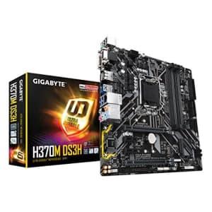GIGABYTE H370M DS3H (LGA1151/Intel/H270/USB 3.1 Gen 1 (USB3.0) Type A Type C/Micro for $149