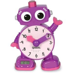 Learning Resources Tock The Learning Clock for $10