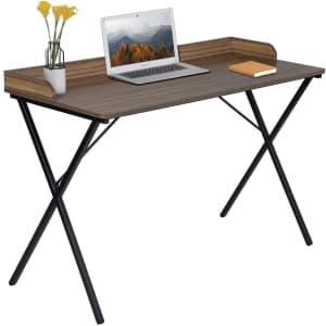 "Aingoo 47"" Metal Frame Computer Desk for $66"