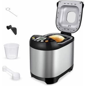 Sycees 19-in-1 2-Lb. Bread Machine for $49