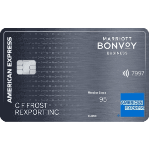 Marriott Bonvoy Business™ American Express® Card: Earn 125,000 points + 2 Free Nights