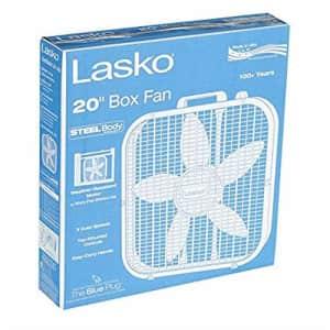 Lasko 20 Inch Box Fan pack of 2 for $22