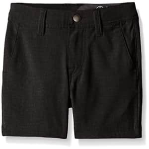 Volcom Big Boys SNT Static Hybrid Short, Black, 23 for $40