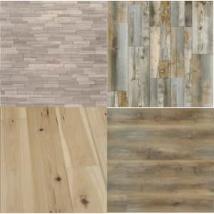 Flooring at Home Depot: Up to 25% off