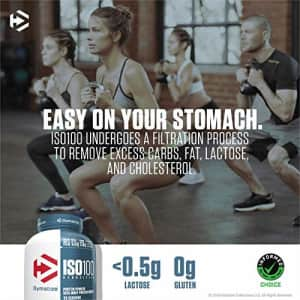 Dymatize ISO 100 Whey Protein Powder with 25g of Hydrolyzed 100% Whey Isolate, Gluten Free, Fast for $76