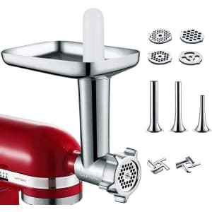 Cofun Metal Food Grinder Attachment for KitchenAid Stand Mixer for $30