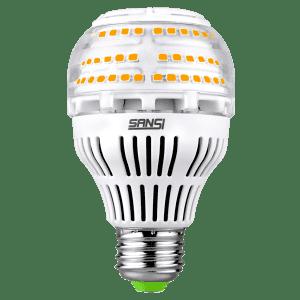 Sansi 150W-Equivalent Dimmable LED Light Bulb for $14