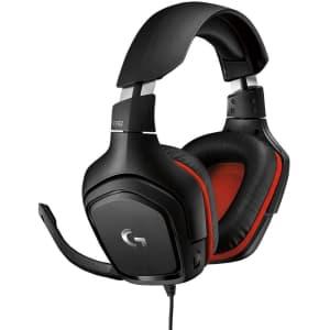 Logitech G332 Stereo Gaming Headset for $37