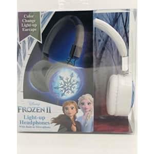 eKids Frozen 2 Light Up Headphones with Built in Microphone for $38
