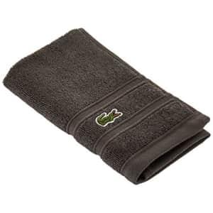 """Lacoste Croc Towel, 100% Cotton, 650 GSM, 13""""x13"""" Wash Towel, Cliff for $10"""