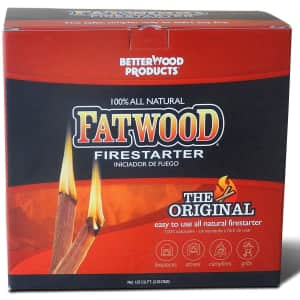 Better Wood Products 10-lbs. Fatwood Firestarter Box for $26