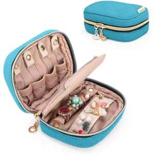 Teamoy Mini Jewelry Travel Case for $15