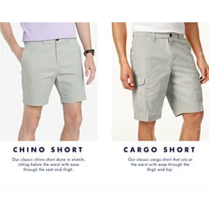 Tommy Hilfiger Men's 6 Pocket Cargo Shorts, Chino, 29 for $55