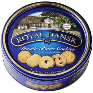 Royal Dansk 12-oz. Danish Butter Cookie Selection for $3