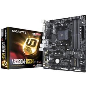 GIGABYTE GA-AB350M-DS3H (AMD Ryzen AM4/ B350/ 4x DDR4/ HDMI/ M.2/ SATA/ USB 3.1 Gen 1/ / RGB for $70