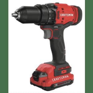 "Craftsman V20 20V Max Cordless 1/2"" Drill/Driver Kit for $59"