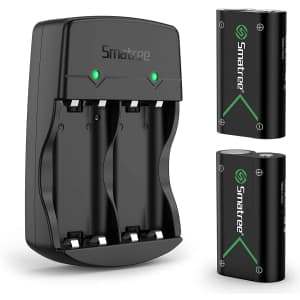 Smatree 2,000mAh Rechargeable Battery 2-Pack for Xbox for $20