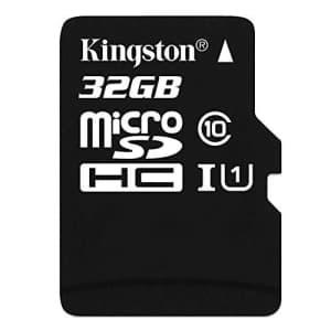 Kingston Digital 32 GB Flash Memory Card SDC10/32GBSP for $20