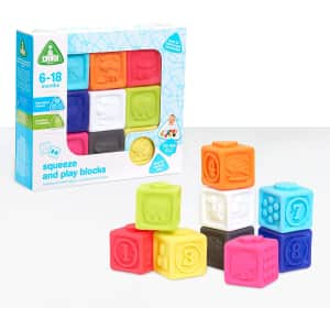 Early Learning Centre Squeezy Stacking Blocks for $6
