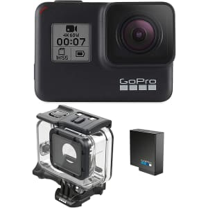 GoPro HERO7 Black Bundle for $250