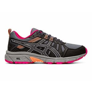 ASICS Women's Gel-Venture 7 (D) Shoes, 8W, Carrier Grey/Silver for $65