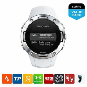 Suunto 5, Lightweight and Compact GPS Sports Watch with 24/7, Activity Tracking and Wrist-Based for $224