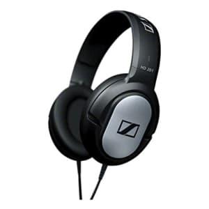 Sennheiser HD-201 Lightweight Over Ear Headphones (Discontinued by Manufacturer) for $77