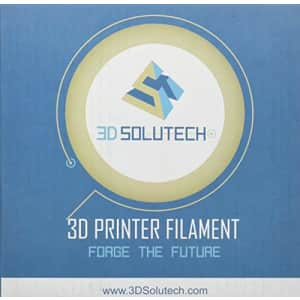 3D Solutech See Through Yellow 1.75mm PETG 3D Printer Filament 2.2 LBS (1.0KG) - PETG175YLW for $20