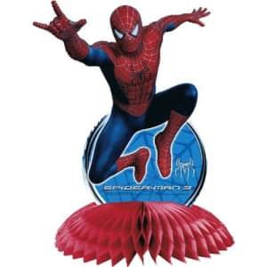 Hallmark Spider-Man 3 Birthday Party Centerpiece Supplies for $13