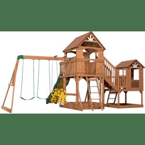 Backyard Discovery Malibu Cedar Swing Set for $1,599 for members