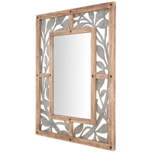 """Home Decorators Collection 39"""" x 29"""" Antiqued Farmhouse Mirror for $83"""