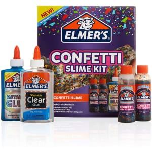 Elmer's Confetti Slime Kit for $8
