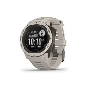 Garmin Instinct, Rugged Outdoor Watch with GPS, Features GLONASS and Galileo, Heart Rate Monitoring for $299