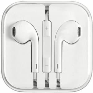Apple 3.5mm EarPods for $8