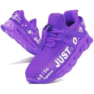 Egmpda Kids' Sneakers for $16