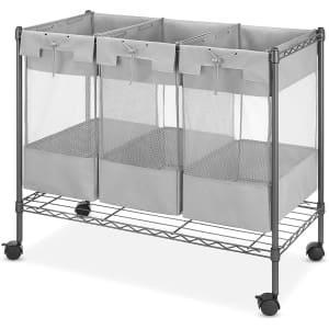 Whitmor Supreme 3-Bag Laundry Organizer for $103