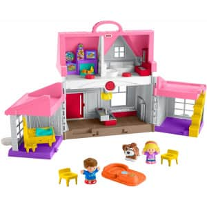 Fisher-Price Little People Big Helpers Home for $16