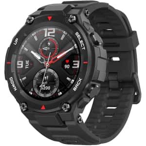 Amazfit T-Rex 48mm Multisport GPS Smartwatch for $140